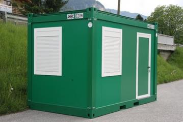 Burocontainer Holzwerk Container Arno Hauser